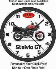 2016 MOTO GUZZI STELVIO GT MOTORCYCLE WALL CLOCK-FREE USA SHIP