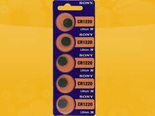 10 x Sony CR1220 CR1220-1W 3V Lithium Coin Cell 5er x 2 Blister Pack Batteries
