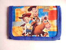Toy Story Woody Kids Boys Filler TRI FOLD Wallet Purse Coins Bag