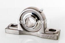 "MUCP209-27 Stainless Steel 1-11/16"" Pillow Block Bearing SUCSP209-27   UCP209-27"