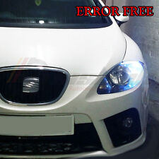 *2x SEAT LEON MK2 FR Super Bright 8 SMD Side Light LED ERROR FREE Bulbs 501 w5w