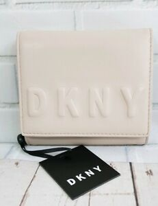 DKNY Deboss Trifold Wallet (R741V100) Carnation Colour New with Tag