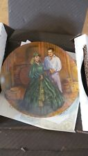 """Nice Gone With The Wind """"Scarlett's Green Dress"""" 1984 by Knowles Collector Plate"""