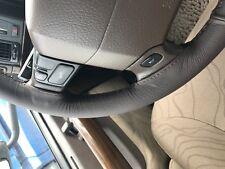 Se adapta a Toyota Prius MK3 09+ cubierta del volante Marrón De Cuero Marrón Puntada