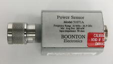 Boonton 51071a 10mhz To 265ghz Dual Diode Power Sensor 70 To 20dbm