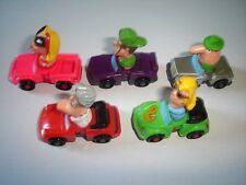Cartoon Heads Model Cars Set 1:87 H0 - Kinder Surprise Plastic Miniatures