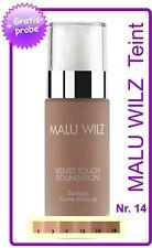 """Malu Wilz """"Teint"""" Velvet Touch Foundation Nr. 14"""