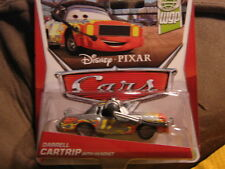 DISNEY PIXAR CARS 2 WORLD GRAND PRIX SERIES DARRELL CARTRIP W/ HEADSET