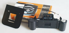MEOPTA REPRODUCTION EQUIPMENT FOR 35MM WITH MANUAL/CABLE RELEASE IN BOX