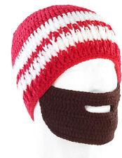 Bonnet avec barbe - Rouge / blanc - Pearl Urban