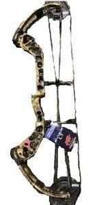 "New Precision Shooting Equipment Evoke 31 RH Mossy Oak Country 29"" Draw / 60#"