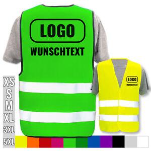 Warnweste Weste Warnschutzweste Zweifarbig Gelb Orange /& Schwarz-NAVY NEU