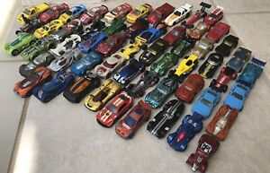 Hot Wheels Lot of 56 - Various Racing Cars 1990s and 2000s VTG Fast Ship! (L2)
