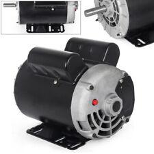 3hp Single Phase Weg Heavy Duty Electric Ac Compressor Motor 58 Keyed Shaft Us