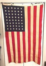48 Star Bulldog Bunting United States American 5'x8' Flag Sewn Stars & Stripes