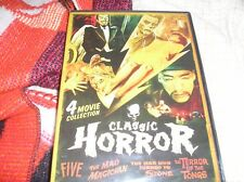 Classic Horror 4 Movies [DVD) [Region 1 NTSC] Christopher Lee Vincent Price