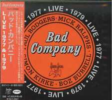 BAD COMPANY-LIVE 1977 & 1979-JAPAN CD G61