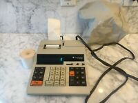Vintage TEXAS INSTRUMENTS TI-5142 Electronic Calculator, Printing Machine
