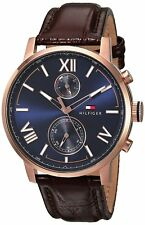 Tommy Hilfiger Leather Mens Watch 1791308