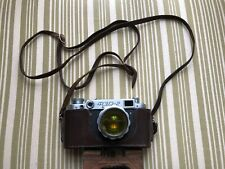 FED2 (1959) Vintage Camera & Lense & Leather Case USSR