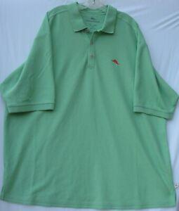 Tommy Bahama men's short sleeve Supima cotton/poly blend polo shirt 2XL tall