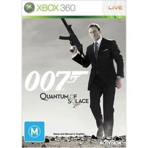Xbox 360 - 007 Quantum Of Solace Aus Game