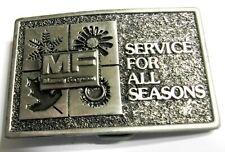 NOS - Vintage Massey Ferguson - Service For All Seasons - Belt Buckle - Lim. Ed.