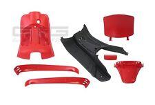 Intérieur Capot 7 Parties de carénage Rouge pour Piaggio Vespa LX / S 50-125