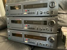 3 x Nad 6100, Audiophile Cassette Decks + 38 jazz and blues tapes