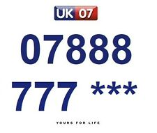 07888 777 *** - Gold Easy Memorable Business Platinum VIP UK Mobile Numbers