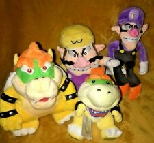 Super Mario Soft Plush Toy - Your Choice of 4 Classic Enemies or Set - NEW