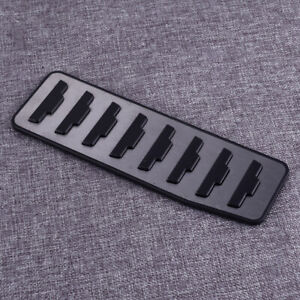 Footrest Brake Pedal Pad Cover Fit For Land Rover Range Rover Evoque