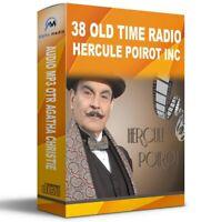 Hercule Poirot inc 38 Old Time Radio Audio MP3