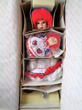 "NEW in Box Danbury Mint RAGGEDY ANN Porcelain Doll by Artist Kelly RuBert 24"""