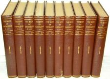 The Book of Knowledge Children's Encyclopedia 10 Book 20 Volume Set 1955 Grolier