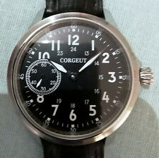 45mm XL Corgeut Orologio Meccanico Mechanical Watch Sporty Case GORGEOUS !