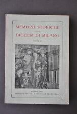 Memorie Storiche Diocesi Milano Nardini Pieve Appiano Santa Maria Lambruco 1956