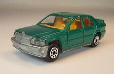 Majorette 1/59 Nr. 231 Mercedes Benz 190 E 2,3-16 Limousine grünmetallic #1017