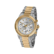 Jacques Lemans Unisex La Passion 42mm Silver Dial Stainless Steel Chrono Watch