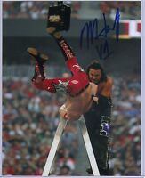 Leaf Wrestling Signed 8x10 Photo Matt Hardy WWF TNA Autographed with COA