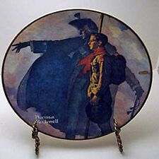 A Scout is Loyal Collector Plate by Norman Rockwell