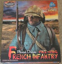 "DID Action Figure ww1 français Pascal Dubois 1/6 12"" Coffret Dragon Cyber Hot toy"
