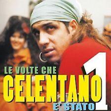CD ADRIANO CELENTANO : LE VOLTE CHE E' STATO NUMERO UNO -NUOVO SIGILLATO Siae-