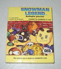 Cassetta GIG Gamate SNOWMAN LEGEND Battaglia glaciale NUOVO Console C1-044