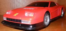 Seldom Found 1986 Nikko RC Red Ferrari Testarossa 1/18 Scale Japan No Remote