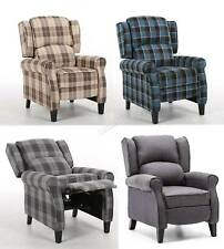 WestWood Vintage Armchair Sofa Recliner Lounge Fabric Tub Chair Seat Home FA01