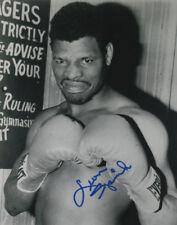 Neon Leon Spinks Boxing Heavyweight Champ SIGNED 8x10 Photo COA!
