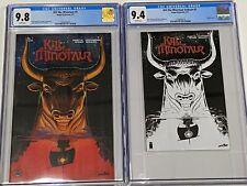 KILL THE MINOTAUR #1 cgc 9.8 and Ashcan cgc 9.4 Image Comics 2 pack Set 2017