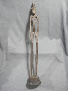 African Senufo Ivory Coast Carved Wood Rhythm Pounder