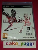 FINAL FANTASY XIII-2 PS3 SONY NEUF SOUS BLISTER (ETIQUETTE COLLEE) 100% FRANCAIS
